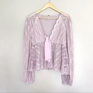 Free People • Luisa Top in Mystic Lavender